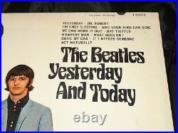 Beatles Yesterday And Today Sealed Vinyl Record Lp USA 1966 Riaa 3 Mono Hype Sti