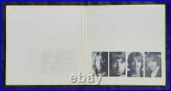 Beatles'lost Harrison Compressed' White Album Low # 0011199 Rare A28 B29 Matrix