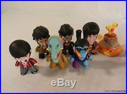 Complete Set of 14 The Beatles Yellow Submarine Titans Vinyl Figures
