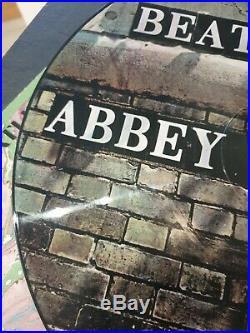 Extremely Rare Original PICTURE DISC THE BEATLES ABBEY ROAD VINYL LP ALBUM
