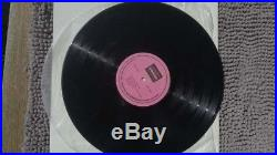 Extremely rare The Beatles Let it Be album on Glen Label LP vinyl record