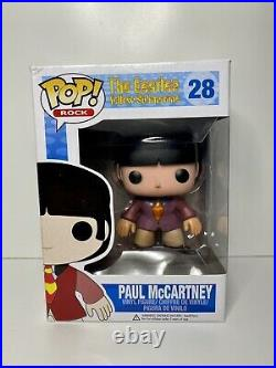 FUNKO POP! Rocks Paul McCartney #28 The Beatles VAULTED GRAIL