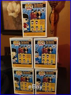 FUNKO POP! The Beatles Yellow Submarine (2012) Complete Set of 5