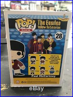 Funko POP Paul McCartney #28 The Beatles Yellow Submarine