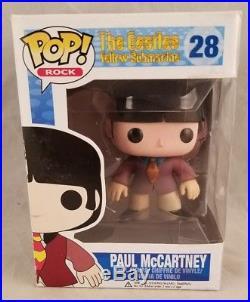 Funko POP ROCK The Beatles Yellow Submarine Paul McCartney #28