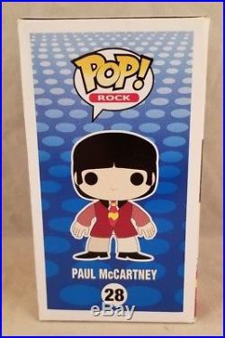 Funko POP ROCK The Beatles Yellow Submarine Paul McCartney #28 Vinyl Figure