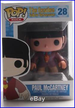 Funko POP! Rocks The Beatles Vinyl Figure Paul McCartney. Delivery is Free