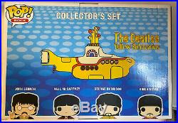 Funko POP! Rocks The Beatles Yellow Submarine Collectors Set Four Pack. GRAIL
