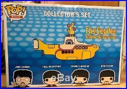 Funko POP! Rocks The Beatles Yellow Submarine Collectors Set Four Pack. GRAIL
