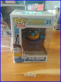 Funko Pop Blue Meanie, In Box With Protector, the beatles, RARE