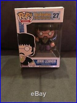 Funko Pop! John Lennon #27, The Beatles Yellow Submarine, in pop protector