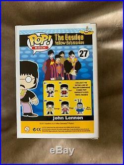 Funko Pop! Rock #27 The Beatles Yellow Submarine John Lennon