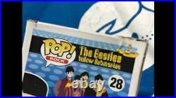 Funko Pop! Rock Paul McCartney # 28 Vaulted The Beatles Yellow Submarine