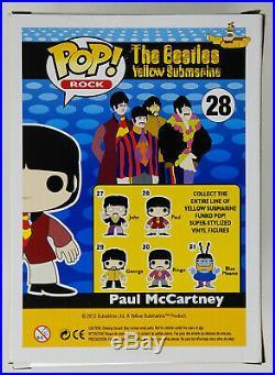 Funko Pop Rock The Beatles 28 Payl McCartney