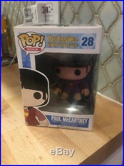 Funko Pop Rock The Beatles Paul McCartney 28 WithBox Safely Shipped! Retired