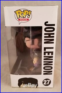 Funko Pop! Rock The Beatles Yellow Submarine #27 John Lennon New Rare Vaulted