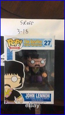 Funko Pop! Rock The Beatles Yellow Submarine #27 John Lennon New Vaulted