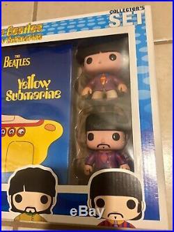 Funko Pop Rock The Beatles Yellow Submarine Collectors Set READ DESCRIPTION