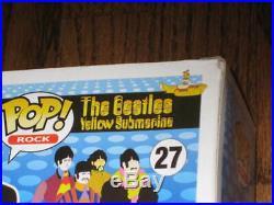 Funko Pop The Beatles John Lennon 27- New! Sent in protector