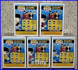 Funko-Pop! -The Beatles-Yellow Submarine-5-pc. Set-NRFB-2013