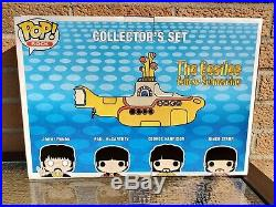 Funko Pop The Beatles Yellow Submarine Collector Set (Barnes and Nobles exc.)