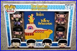 Funko Pop! -The Beatles Yellow Submarine-Collector's Set-5pc. 2013