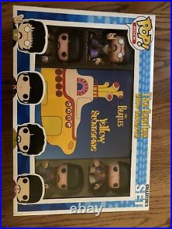 Funko Pop! The Beatles Yellow Submarine Collector's Set. New In Box