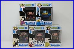 Funko Pop The Beatles Yellow Submarine Complete Set Vaulted And Retired