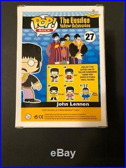 Funko Pop The Beatles Yellow Submarine Complete Set Vaulted And Retired. Unused