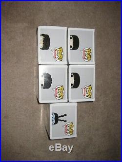 Funko Pop The Beatles Yellow Submarine FULL SET LOT