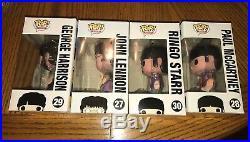 Funko Pop! The Beatles Yellow Submarine (John, Paul, George, Ringo) WithProtector