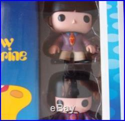 Funko Pop! The Beatles Yellow Submarine box set, Beatles Pops and booklet, rare