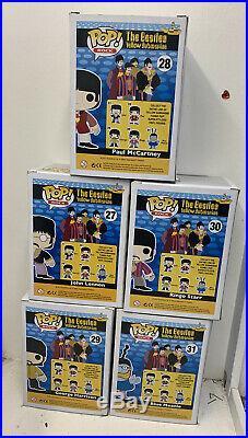 Funko Pop The Beatles Yellow Submarine full set #27-31