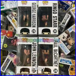 Funko PopThe Beatles Yellow Submarine Set John Lennon #27- #30 MINT WithProtector