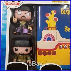 Funko Rock The Beatles Collector's Set The Beatles Yellow Submarine