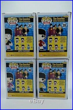 Funko The Beatles Yellow Submarine Complete Set of 5 (NIB)
