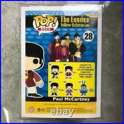 Funko popRockThe Beatles yellow submarine #27 #28 #29 #30 #31 with Protector