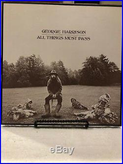 George Harrison The Beatles Lp Vinyl Record All Things Must Pass Box Set