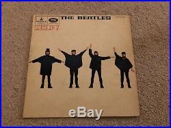 Help! THE BEATLES 1st Press UK vinyl LP album record PMC1255 PARLOPHONE 1965