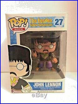 JOHN LENNON 27 Funko pop Vaulted The Beatles Yellow Submarine
