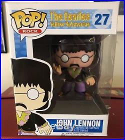 JOHN LENNON FUNKO POP ROCK THE BEATLES Vinyl Figure #27 NEW Yellow Submarine