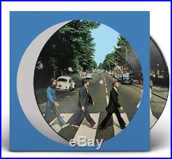 Japan Limited Ed 1lp Picture Disc Vinyl + Flyer! The Beatles Abbey Road 50 2019