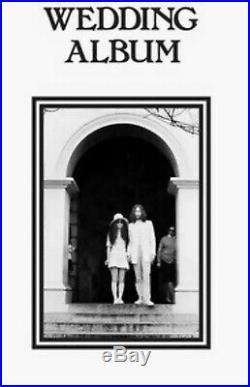 John Lennon Yoko Ono Wedding Album Ltd /300 Clear Vinyl LP Box Set The Beatles
