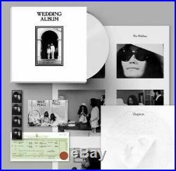 John Lennon Yoko Ono Wedding Album Ltd 300 Clear Vinyl Lp Box Set The Beatles