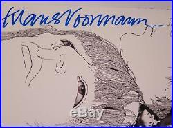 Klaus Voormann THE BEATLES Signed Autograph Revolver Album Vinyl Record LP