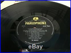 L@@k The Beatles Vinyl Lp HELP Original 1965 1st Press Rare Outline STEREO L@@K