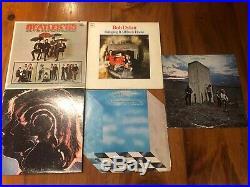 LOT of 25 Vinyl Record Albums LP's The Beatles, Led Zeppelin, Dylan, Hendrix