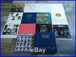 LP 13 LP's The Beatles Vinyl Collection Blue Box BC13 Holland Press viele Fotos