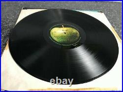 LP The Beatles Abbey Road Vinyl Misprint misaligned Apple UK 1st Press PCS 7088