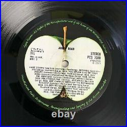LP VINYL ALBUM THE BEATLES ABBEY ROAD UK 1st PRESS 1969 PCS 7088 EX/EX